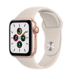 Apple Watch SE GPS Celular 40mm Oro AluMinium Funda Starlight Sport Regular