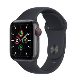 Apple Watch SE GPS Celular 40mm Gris AluMinium Funda Medianoche Sport Regular