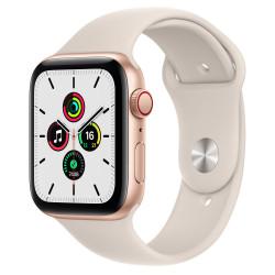 Apple Watch SE GPS Celular 44mm Oro AluMinium Funda Starlight Sport Regular
