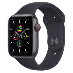 Apple Watch SE GPS Celular 44mm Gris AluMinium Funda Medianoche Sport Regular
