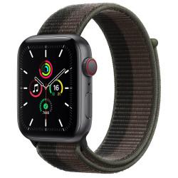 Apple Watch SE GPS Celular 44mm Gris AluMinium Funda TornadoGray Sport Círculo