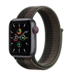Apple Watch SE GPS Celular 40mm Gris AluMinium Funda TornadoGray Sport Círculo