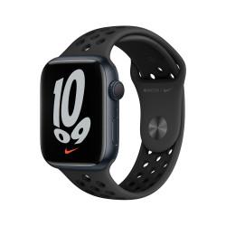 Apple Watch Nike 7 GPS 45mm Medianoche AluMinium Funda AnthraciteNegro B Regular