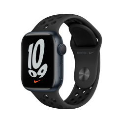 Apple Watch Nike 7 GPS 41mm Medianoche AluMinium Funda AnthraciteNegro B Regular
