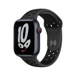 Apple Watch Nike 7 GPS Celular 45mm Medianoche AluMinium Funda AnthraciteNegro B Regular