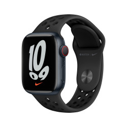 Apple Watch Nike 7 GPS Celular 41mm Medianoche AluMinium Funda AnthraciteNegro B Regular