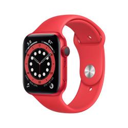 Apple Watch 6 GPS Celular 44mm Rojo Aluminio Rojo Sport