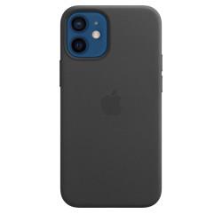 iPhone 12 Mini Cuero Funda MagSafe Negro